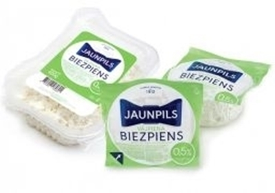 Picture of Jaunpils Curd Cheese, skim milk curd 0,5% 0,275g QTY in box: 12