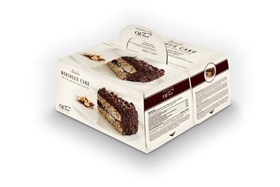 Picture of LAIMA - Meringue cake with peanut OTB 700 g -18C