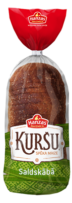 "Picture of Rye light loaf bread ""Kursu"" 800g (in box 12)"