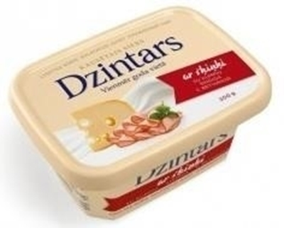Picture of DZINTARS - Cheese with ham  200g  (n box 20)