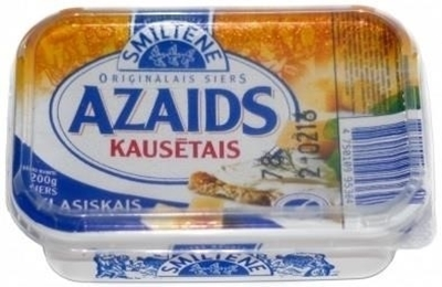 Picture of Smiltenes piens - Processed cheese Azaids 250g  (in box 12)