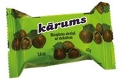 Picture of KARUMS - Glazed Curd Cheese Bar with Nuts 45g (in box 40)