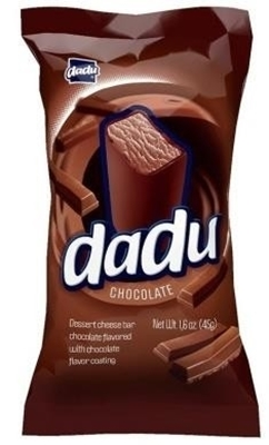 Picture of DADU - Chocolate Sweet curd bars 45g (in box 18)
