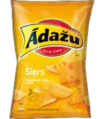 Picture of ADAZU - Crisps with cheese 160g (in box 18)