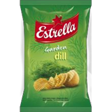 Picture of Estrella - Dill Flavour Crisps 140g (in box 20)