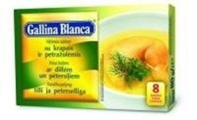 Picture of GALLINA BLANCA - Vistas buljons ar dillem un petersiliem 8*10g (box*24)