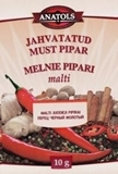 Picture of VALDO - Black ground pepper ANATOLS 10g (in box 20)