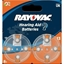 Picture of BAT. RAYOVAC HAB SIZE 13 8ks BLISTER (in box 20)