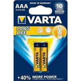 Picture of BAT. VARTA Longlife MICRO LR03 AAA 1.5V 2pcs BLISTER  (in box 20)