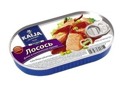 Picture of KAIJA - Salmon fillets in spicy creme 170g