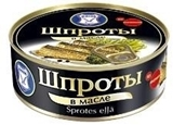 Picture of KAIJA - Smoked sprats in oil 240g