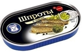 Picture of KAIJA - Smoked sprats in oil 190g EO