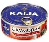 Picture of KAIJA - Mackerel in tomato sauce EO 240g