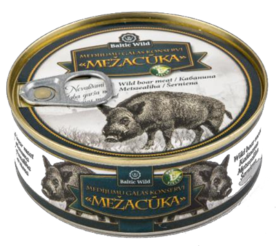 Picture of Canned game meat WILD BOAR (Mezacuka) 250g
