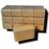 Picture of Briquettes Wood BRICK 10 kg hardwood INTERKORP