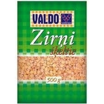 Picture of VALDO - Pea, Halfs (Zirņi šķeltie) 0,5 kg (in box 12)