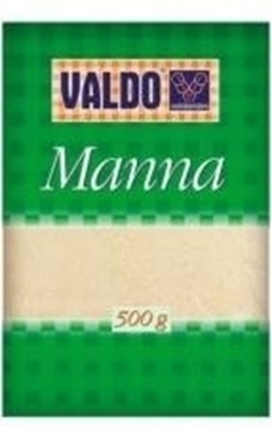 Picture of Groats semolina (Putraimi mannas) 'VALDO' 0.5 kg (in box 12)