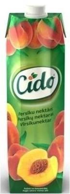 Picture of CIDO - Peach nektar 1L (in box 15)