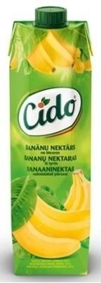 Picture of CIDO - Banana nectar 1l (in box 15)