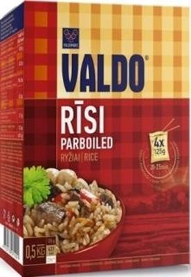 Picture of VALDO-Rice (Rīsi 'PARBOILED VALDO')0.5 kg(4x125 g) (in box 20)