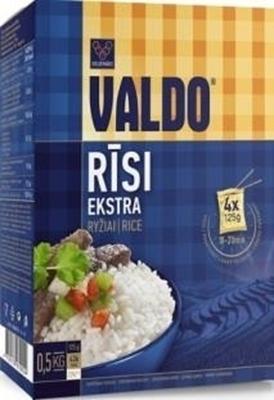 Picture of VALDO - Rice (RICE 'VALDO') 0.5 kg(4x125 g) (in box 12)