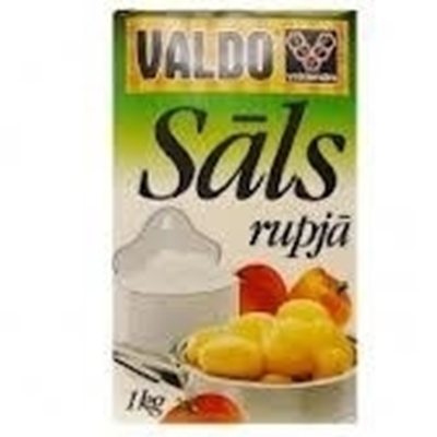 Picture of Salt, Coarse 'Ekstra' 'VALDO' 1 kg (in box 20)