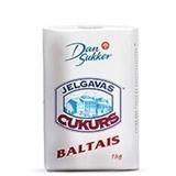 Picture of Sugar JELGAVAS Cukurs baltais, rafinets 1kg (in box 10)