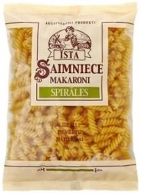 "Picture of Pasta, Īsta Saimniece makaroni ""Spirāles"" 400g (in box 10)"