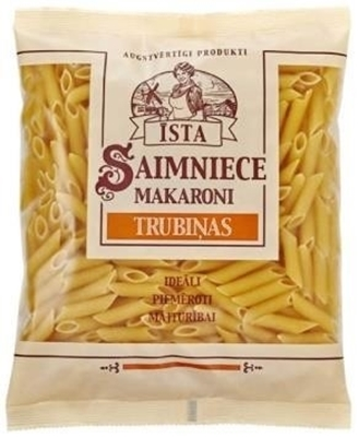 "Picture of Pasta, Īsta Saimniece makaroni "" Penne rigate"" 400g (in box 10)"