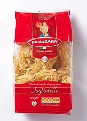 Picture of Pasta ZARA Nr. 104 / Tagliatelle 500g (in box 20)