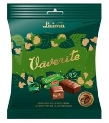 Picture of LAIMA - VAVERITE choc. sweets 160g