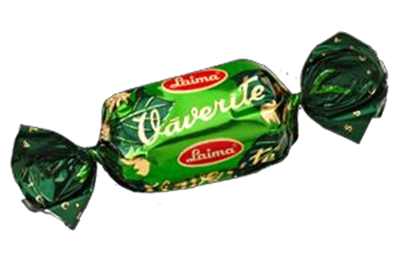 Picture of LAIMA - VAVERITE choc. sweets (in box 2kg)