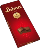 Picture of AERATED dark chocolate LAIMA 90g (in box 14)