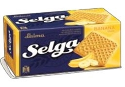 Picture of SELGA biscuits with banana taste 180g