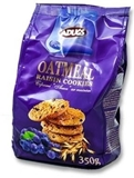Picture of ADUGS - Oatmeal cookies with raisins, 350g (in box 9)