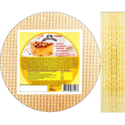 Picture of FUTURUS FOOD - Wafers plate for cake Classic 90g