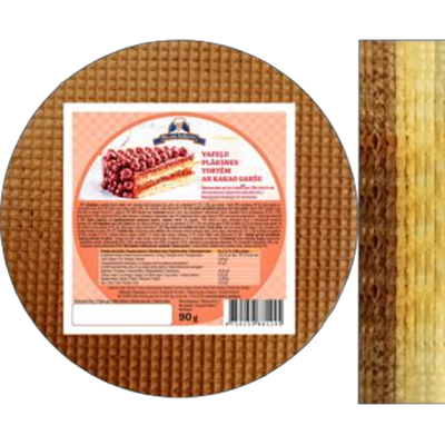 Picture of FUTURUS FOOD - Wafers plate for cake with cocao flavoured 90g