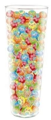 Picture of FUTURUS FOOD - Loli Mini Fruits flavoured lollipops in vase 7g