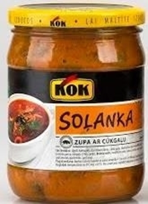Picture of KOK - Soljanka soup with pork 0,480g (box*6)