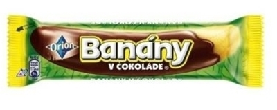 Picture of BANANA IN CHOCOLATE  XXL 60g (in box 32)
