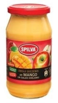Picture of SPILVA - Apple puree with mango 0.5L