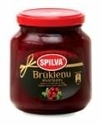 Picture of SPILVA - Red billberry jam (box*12)