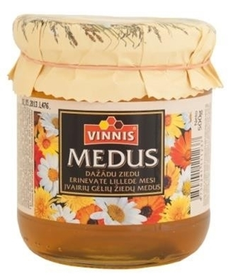 Picture of VINNIS - Honey of various blossoms 300g (in box 8)
