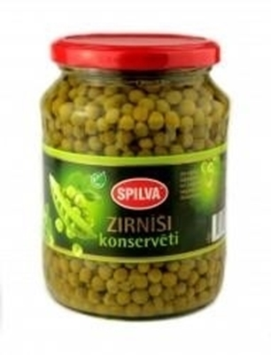 Picture of SPILVA - Green peas 0.720g (box*8)