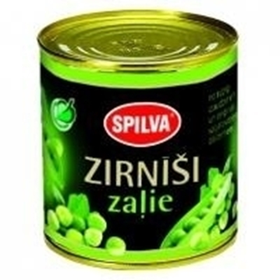 Picture of SPILVA - Green peas 0.425ml (box*10)