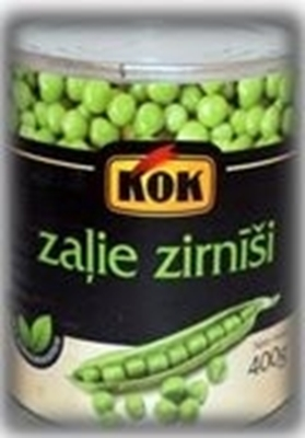 Picture of KOK - Green peas 420g (box*10)