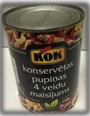 Picture of KOK - 4 types of beans mixture 400g (in box 48)