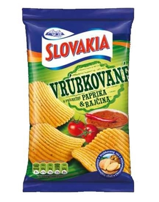 Picture of SLOVAKIA CHIPS PAPRIKA 75g	(in box 15)