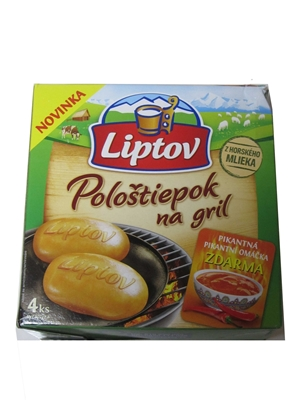 Picture of CHEESE FOR GRILL PICANT 240g LIPTOV