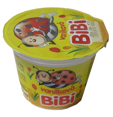 Picture of YOGURT DEBT BIBI SMOT-SHOW. VANILKA 70g   (in box 10)